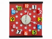 купить Настенные часы Кубики в горошек цена, отзывы