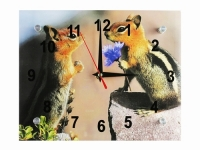 купить Настенные Часы Бурундучки  цена, отзывы