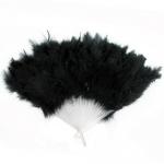 купить Веер перо (черный) цена, отзывы