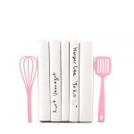 купить Держатели для книг Венчик и Лопатка розовые цена, отзывы