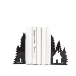 купить Держатели для книг Зимний лес цена, отзывы