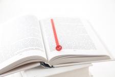 купить Закладка для книг Check (красный) цена, отзывы