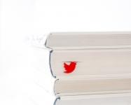 купить Закладка для книг Twitter цена, отзывы