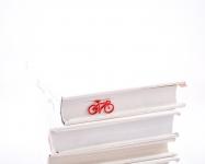 купить Закладка для книг Велосипед (красный) цена, отзывы
