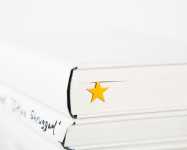 купить Закладка для книг Жёлтая звезда цена, отзывы