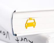 купить Закладка для книг Жёлтое такси цена, отзывы