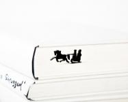 купить Закладка для книг Зимние сани цена, отзывы