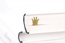 купить Закладка для книг Золотая корона цена, отзывы