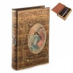 купить Книга сейф Paris 26 см цена, отзывы