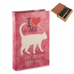 купить Книга сейф Кошка 26 см цена, отзывы