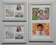 купить Набор из 3 рамок для 8 фото Small set White цена, отзывы