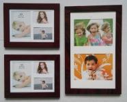 купить Набор из 3 рамок для 8 фото Small set Brown цена, отзывы