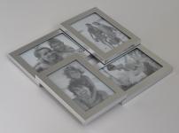 купить Металическая мультирамка для 4 фото цена, отзывы