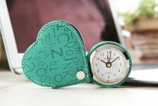 купить Cердечко будильник Бирюзовый Heart Green цена, отзывы