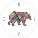 купить Настенные Часы Медведь 36 см цена, отзывы