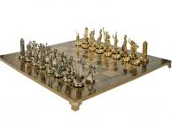 купить Шахматы Manopoulos Греко Римская война 27,5х27,5см цена, отзывы