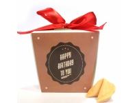 купить Печенье с предсказанием С Днем Рождения цена, отзывы