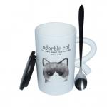 купить Чашка Кот герой Серый цена, отзывы