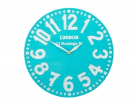 купить Настенные часы Лондон (бирюза) цена, отзывы