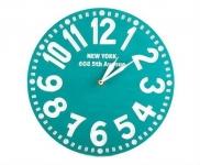 купить Настенные часы Нью-Йорк (бирюза) цена, отзывы