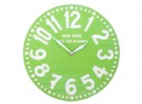 купить Настенные часы Нью-Йорк (яблочно-зелёные) цена, отзывы