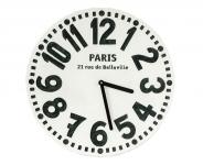 купить Настенные часы Париж (белый) цена, отзывы