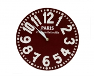 купить Настенные часы Париж (бордо) цена, отзывы