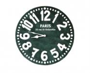 купить Настенные Часы Париж (чёрные) цена, отзывы