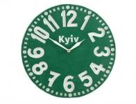 купить Часы Киев (изумрудно-зелёный) цена, отзывы