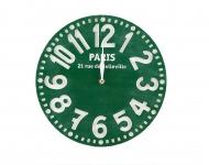 купить Часы Париж (изумрудно-зелёный) цена, отзывы