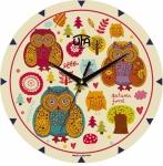купить Настенные Часы Mini Совушки цена, отзывы