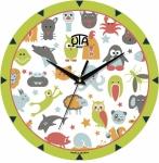 купить Настенные Часы Mini Пушистые Зверюшки цена, отзывы