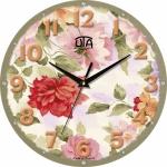 купить Настенные Часы Mini Распустившиеся цветы  цена, отзывы