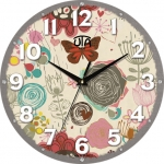 купить Настенные Часы Mini Волшебные Розы цена, отзывы