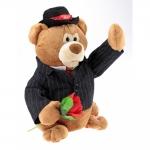 купить Медведь с цветочком выйду на улицу цена, отзывы