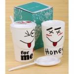 купить Чашка smile for love, 4 вида цена, отзывы