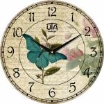 купить Настенные Часы Vintage Бабочка на Цветке цена, отзывы