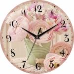 купить Настенные Часы Vintage Цветы в ведерке цена, отзывы