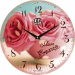 купить Настенные Часы Vintage Букет из Роз в чашке цена, отзывы