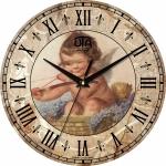 купить Настенные Часы Vintage Веселый Купидон цена, отзывы
