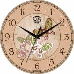 купить Настенные Часы Vintage Бабочки (розовые) цена, отзывы