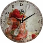 купить Настенные Часы Vintage Клубничка цена, отзывы