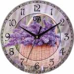 купить Настенные Часы Vintage Корзинка Лаванды цена, отзывы