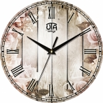 купить Настенные Часы Vintage Цветы у забора цена, отзывы