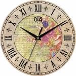 купить Настенные Часы Vintage Цветы цена, отзывы