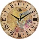 купить Настенные Часы Vintage Цветы в орнаменте цена, отзывы