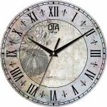 купить Настенные Часы Vintage Абстракция в серых тонах цена, отзывы