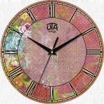 купить Настенные Часы Vintage Абстракция в розовых тонах цена, отзывы