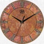 купить Настенные Часы Vintage Абстракция в коричневых оттенках  цена, отзывы