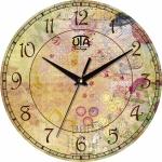купить Настенные Часы Vintage Цветочная Фантазия цена, отзывы